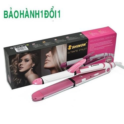 Máy uốn tóc Shinon 8005 cho các chị em làm được nhiều bộ tóc mới cực đẹp