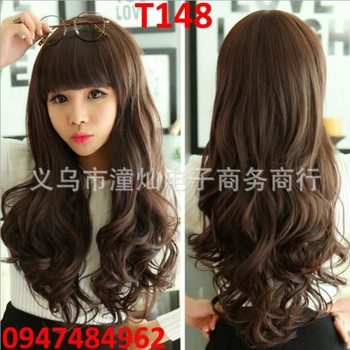 Tóc giả nữ Hàn Quốc đẹp T148