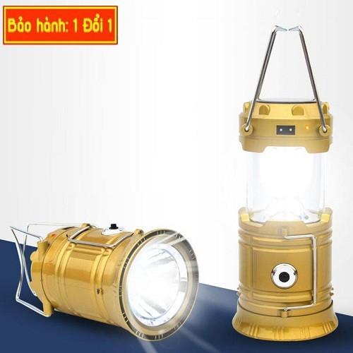 Đèn bão năng lượng mặt trời YJ-5800T sử dụng loại pin nén đặc biệt cho thời gian sử dụng dài