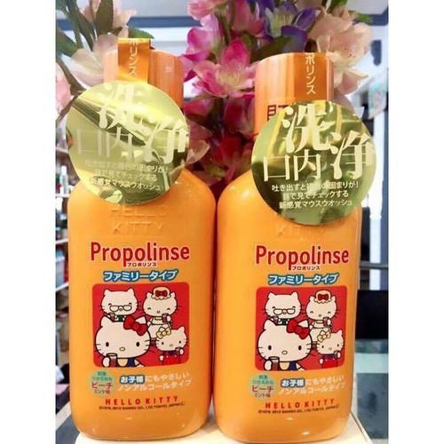 Nước súc miệng Propolinse Hello Kitty dành cho trẻ em - 6827240 , 13537699 , 15_13537699 , 180000 , Nuoc-suc-mieng-Propolinse-Hello-Kitty-danh-cho-tre-em-15_13537699 , sendo.vn , Nước súc miệng Propolinse Hello Kitty dành cho trẻ em