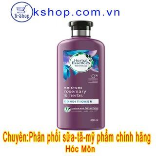 Dầu Xả Herbal Essences Tinh Dầu Thảo Mộc & Hương Thảo 400ml - KHerbalEssenDXTT400ml thumbnail