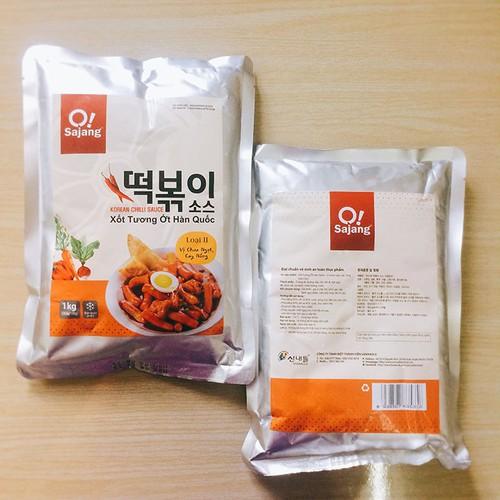 1Kg Xốt Tương Ớt Hàn Quốc