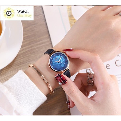 Đồng hồ nữ JULIUS  Hàn Quốc JA1098 - Xanh