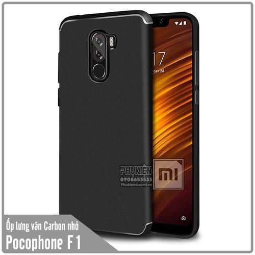 Ốp lưng Xiaomi Pocophone F1 vân Carbon nhỏ - Nhựa TPU dẻo - đen - 4579295 , 13526421 , 15_13526421 , 50000 , Op-lung-Xiaomi-Pocophone-F1-van-Carbon-nho-Nhua-TPU-deo-den-15_13526421 , sendo.vn , Ốp lưng Xiaomi Pocophone F1 vân Carbon nhỏ - Nhựa TPU dẻo - đen
