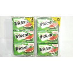 Kẹo Chewing gum Watermelon Twist Trident - Mỹ