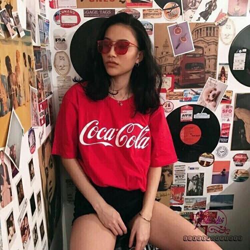 Áo thun coca cola