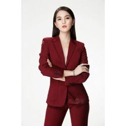 Set bộ vest quần dài cao cấp - Size M, L