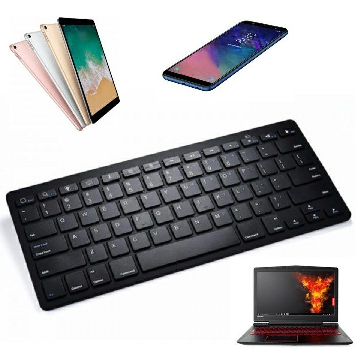 Bàn phím không dây cho Điện thoại Iphone Ipad Laptop