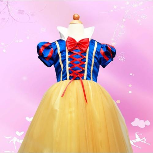 Đầm hóa trang công chúa Bạch tuyết xinh xắn dành cho trẻ em - 6828195 , 13538719 , 15_13538719 , 210000 , Dam-hoa-trang-cong-chua-Bach-tuyet-xinh-xan-danh-cho-tre-em-15_13538719 , sendo.vn , Đầm hóa trang công chúa Bạch tuyết xinh xắn dành cho trẻ em