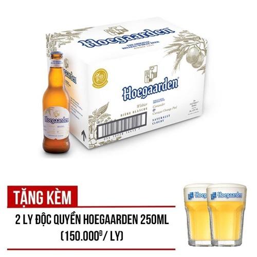 Bia Hoegaarden White 24 chai 330ml - Tặng 2 ly chính hãng - 6816022 , 13524894 , 15_13524894 , 790000 , Bia-Hoegaarden-White-24-chai-330ml-Tang-2-ly-chinh-hang-15_13524894 , sendo.vn , Bia Hoegaarden White 24 chai 330ml - Tặng 2 ly chính hãng