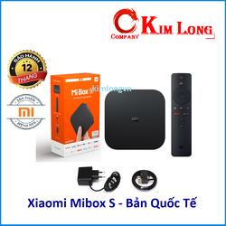 Tivi Box Xiaomi Mibox S 4K