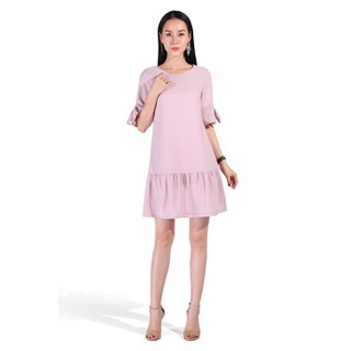 De Leah - Đầm Suông Đuôi Cá Tay Nơ - Thời trang thiết kế - VL1803061H thumbnail