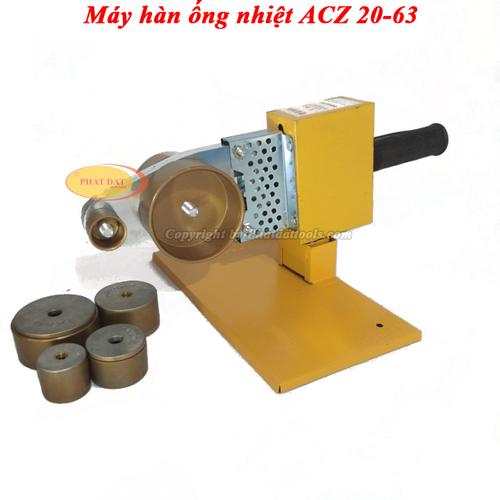 Máy Hàn Ống Nhiệt ACZ 20-63 Chính Hãng-Bảo Hành 6 Tháng
