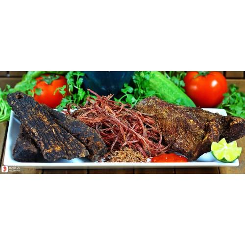 Khô trâu gác bếp nguyên chất chính gốc Tây Bắc