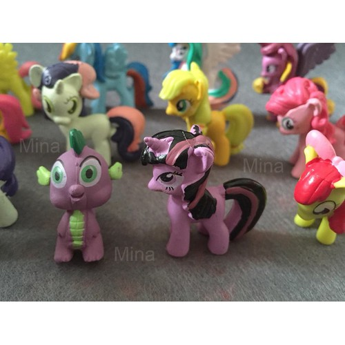 Set 12 nhân vật chú ngựa Pony