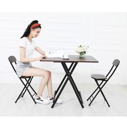 Bộ bàn ghế gỗ - bộ bàn ghế gỗ gấp gọn 1 bàn 2 ghế