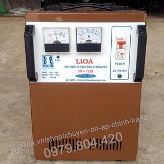 Ổn Áp Lioa 7,5KVA 1 Pha, 7500-DRI Dải 90-250V, Bảo Hành 4 Năm - lioa7500-90 thumbnail