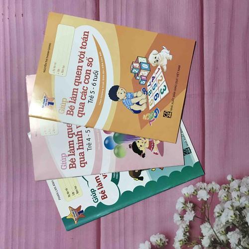 Bộ 3 cuốn bé chuẩn bị vào lớp 1
