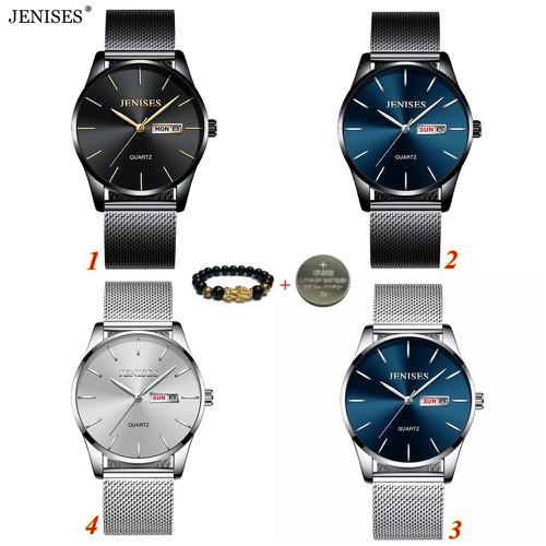 TẶNG VÒNG TỲ HƯU - Đồng hồ nam JENISES 6001 chính hãng