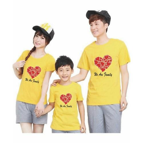 áo thun gia đình 3 cái