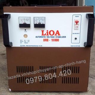 Ổn Áp Lioa 10KVA 1 Pha Dải 50-250V, 10.000-DRII Bảo Hành 4 Năm - lioa10kva-50 thumbnail