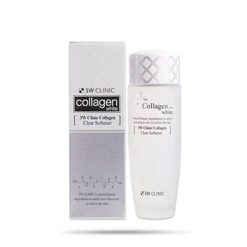 Nước hoa hồng dưỡng trắng da 3W Clinic Collagen White 150ml