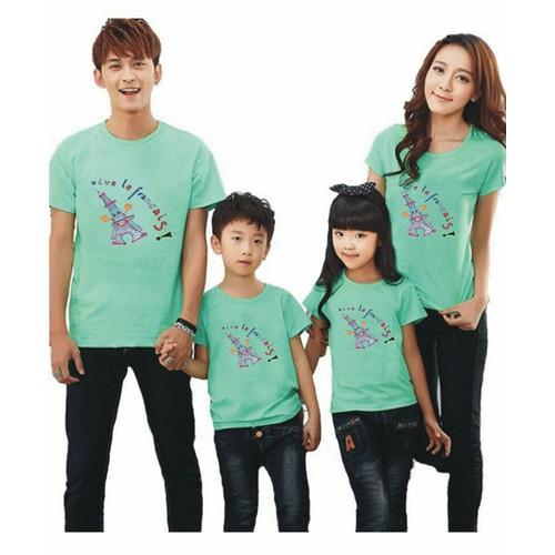 áo thun gia đình 4 cái