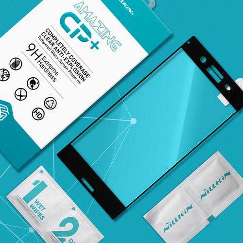 Cường lực Sony-Xperia XZ Premium Full Nillkin đen