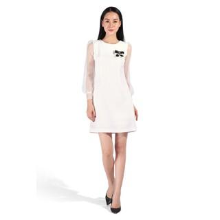 De Leah - Đầm Ôm A Tweed Phối Tay - Thời trang thiết kế - VL1817081Tr thumbnail