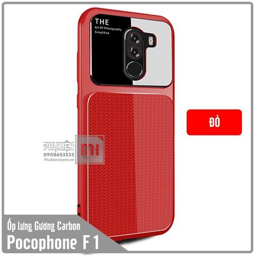 Ốp lưng Xiaomi Pocophone F1 gương Carbon viền nhựa dẻo - màu đỏ - 6835234 , 13547571 , 15_13547571 , 70000 , Op-lung-Xiaomi-Pocophone-F1-guong-Carbon-vien-nhua-deo-mau-do-15_13547571 , sendo.vn , Ốp lưng Xiaomi Pocophone F1 gương Carbon viền nhựa dẻo - màu đỏ