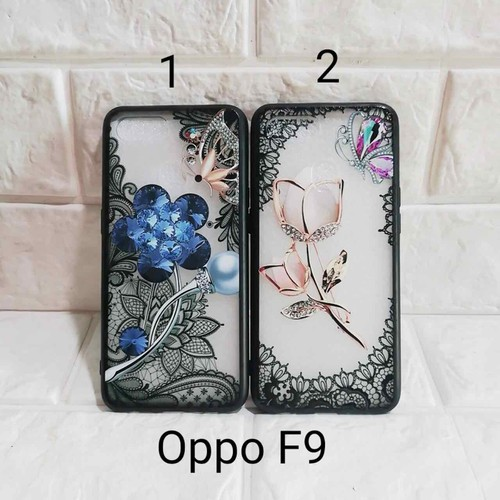 ốp Oppo F9 hoa in nổi