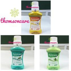 Nước súc miệng Sumicare - đầy đủ các hương vị
