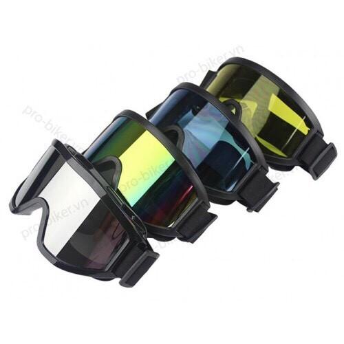Kính mũ bảo hiểm Kính UV X500 Kính Mũ 3 phần 4
