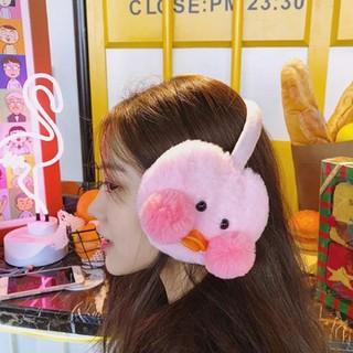 Chụp tai - Chụp tai giữ ấm - Chụp tai vịt má hồng cute- chụp tai hình thú - Chụp tai giữ ấm HRE0355 thumbnail