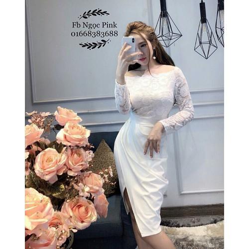 Đầm nữ màu trắng