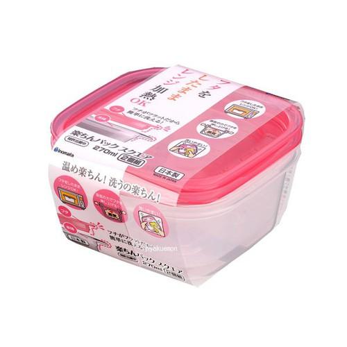 Bộ 2 hộp nhựa đựng đồ ăn dặm cho bé 270ml dùng được trong lò vi sóng hàng Nhật - 4480691 , 13544579 , 15_13544579 , 45000 , Bo-2-hop-nhua-dung-do-an-dam-cho-be-270ml-dung-duoc-trong-lo-vi-song-hang-Nhat-15_13544579 , sendo.vn , Bộ 2 hộp nhựa đựng đồ ăn dặm cho bé 270ml dùng được trong lò vi sóng hàng Nhật