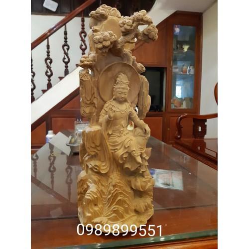 Phật bà tự tại ngồi gỗ tùng 35cm - tượng phật bà quan âm - 20177834 , 13543717 , 15_13543717 , 2200000 , Phat-ba-tu-tai-ngoi-go-tung-35cm-tuong-phat-ba-quan-am-15_13543717 , sendo.vn , Phật bà tự tại ngồi gỗ tùng 35cm - tượng phật bà quan âm