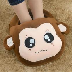 Túi Sưởi chân cắm điện-Làm ấm chân-ủng sưởi chân hình thú
