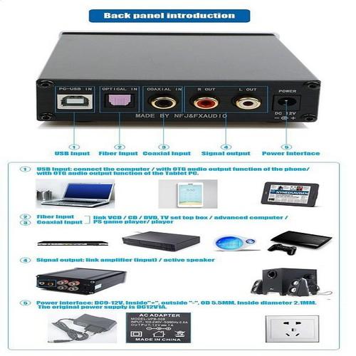 DAC FX-AUDIO X6 Bộ giải mã âm thanh chất lượng cao - 6841455 , 13555205 , 15_13555205 , 1600000 , DAC-FX-AUDIO-X6-Bo-giai-ma-am-thanh-chat-luong-cao-15_13555205 , sendo.vn , DAC FX-AUDIO X6 Bộ giải mã âm thanh chất lượng cao