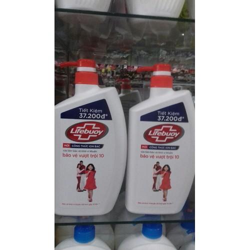 Sữa tắm lifebouy 850g