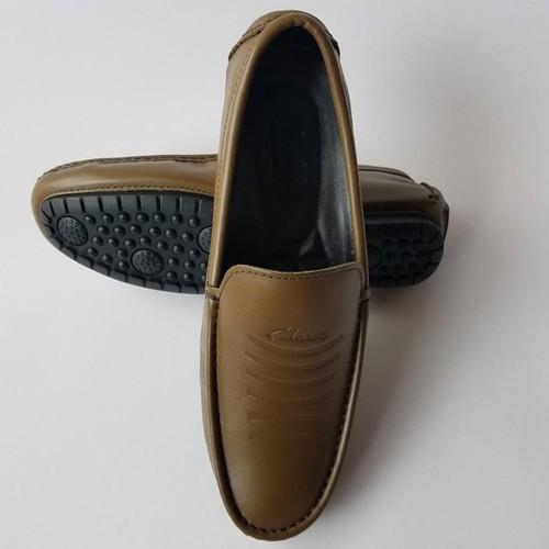 Giày Mọi Giày Lười Nam Da Bò Thời Trang - G5668