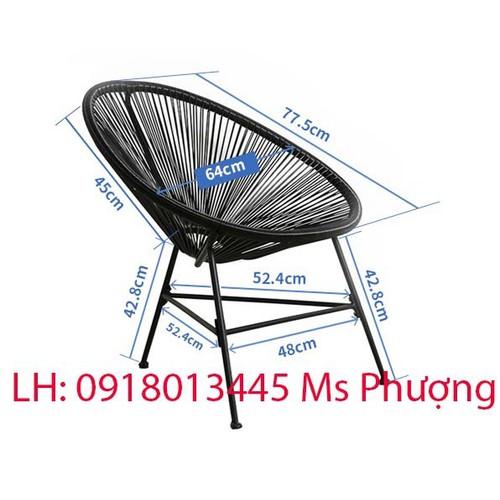 Ghế cafe hình Nón khung sắt đan sợi nhựa cao cấp Ngọc Hải sản xuất giá rẻ - 6835965 , 13548535 , 15_13548535 , 550000 , Ghe-cafe-hinh-Non-khung-sat-dan-soi-nhua-cao-cap-Ngoc-Hai-san-xuat-gia-re-15_13548535 , sendo.vn , Ghế cafe hình Nón khung sắt đan sợi nhựa cao cấp Ngọc Hải sản xuất giá rẻ
