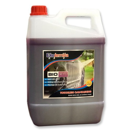 Dung dịch nước rửa xe không chạm BIO 30 - 5L