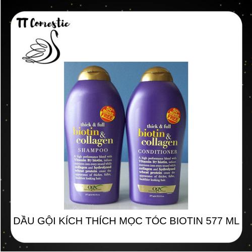 Dầu gội kích thích mọc tóc biotin collagen | dau goi kich thich moc toc biotin  xuất xứ Mỹ 577ml - 6844431 , 13559399 , 15_13559399 , 420000 , Dau-goi-kich-thich-moc-toc-biotin-collagen-dau-goi-kich-thich-moc-toc-biotin-xuat-xu-My-577ml-15_13559399 , sendo.vn , Dầu gội kích thích mọc tóc biotin collagen | dau goi kich thich moc toc biotin  xuất xứ
