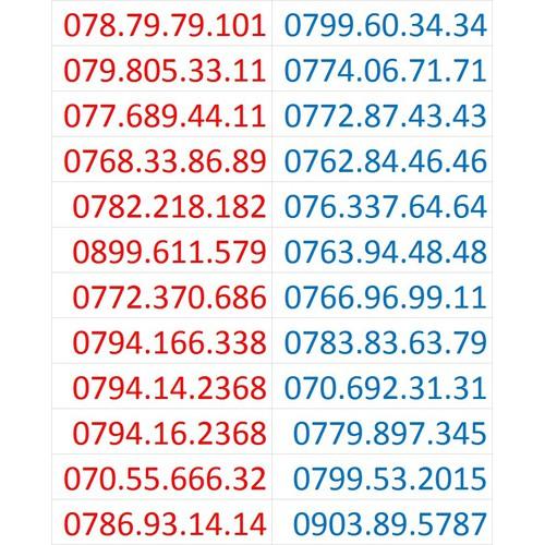 SIM SỐ ĐẸP MOBIFONE SỐ CẶP TIẾN LÊN PHÁT TÀI - 6853820 , 13570724 , 15_13570724 , 400000 , SIM-SO-DEP-MOBIFONE-SO-CAP-TIEN-LEN-PHAT-TAI-15_13570724 , sendo.vn , SIM SỐ ĐẸP MOBIFONE SỐ CẶP TIẾN LÊN PHÁT TÀI