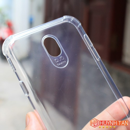 Ốp lưng Samsung J7 Pro Silicon trong suốt chống sốc 6D