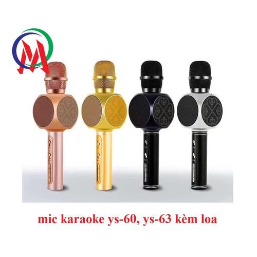 mic karaoke ys-60, ys-63 kèm loa - 6856353 , 13573881 , 15_13573881 , 255000 , mic-karaoke-ys-60-ys-63-kem-loa-15_13573881 , sendo.vn , mic karaoke ys-60, ys-63 kèm loa