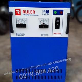 Ổn Áp Ruler 10KVA Dải 50-250V, Bảo Hành 4 Năm, Dây Đồng - ruler10kva-50 thumbnail