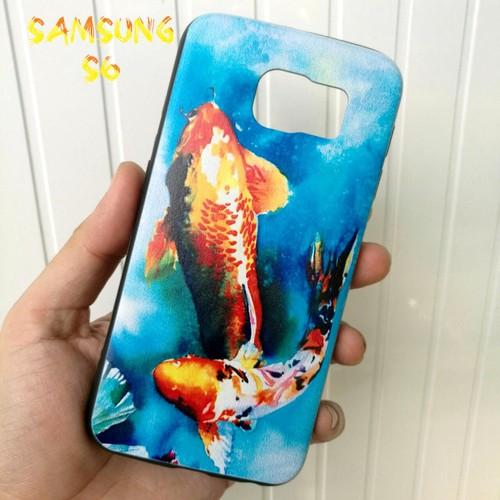Ốp Lưng Samsung S6 Cá Chép Koi Song Ngư