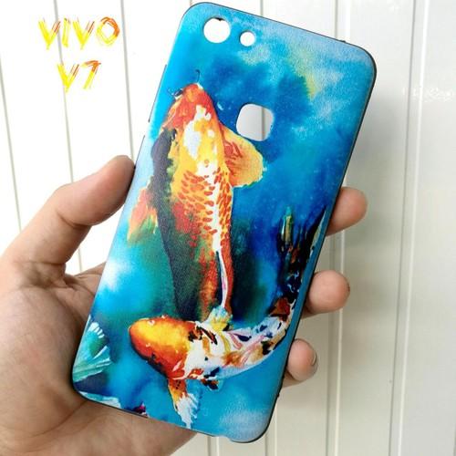 Ốp Lưng Vivo V7 Cá Chép Koi Song Ngư